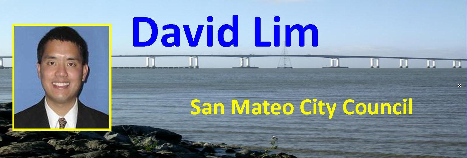 San Mateo City Councilman David Lim
